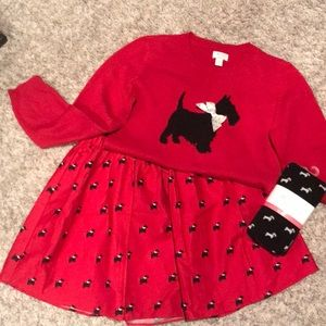 3 Piece Children's Place Scottie outfit
